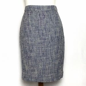 J.Crew Factory Skirt Bellflower Tweed Pencil